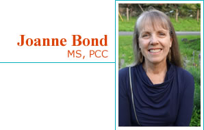 Joanne Bond, MS, PCC - certified leadership coach